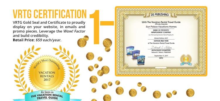 Branding Tool #1 VRTG Seal and Certification